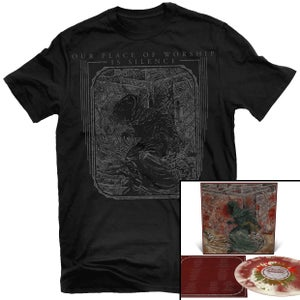 Image of Our Place of Worship is Silence - With Inexorable... MERGE+SPL LP + Shirt Package (Pre-order)
