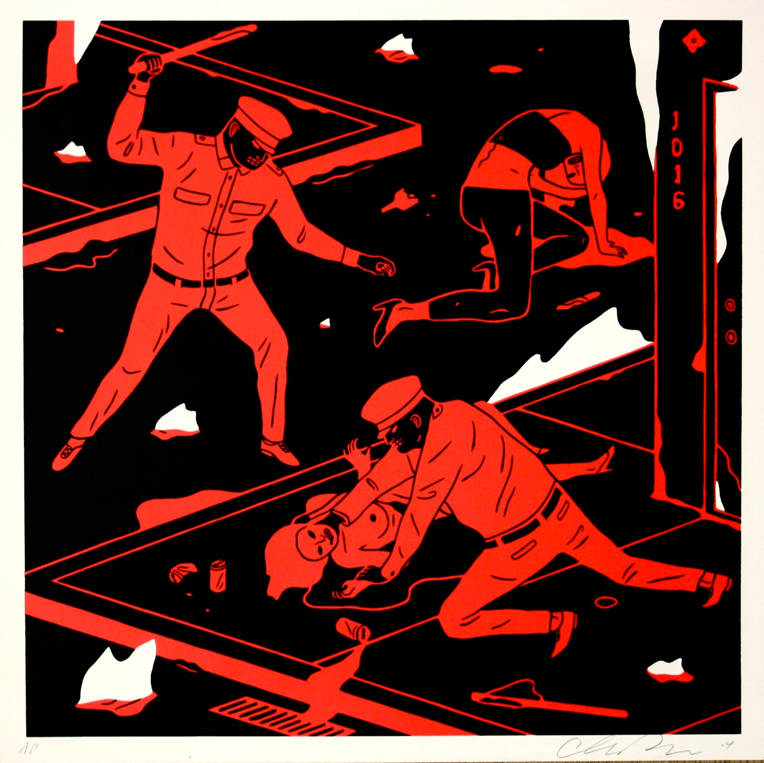 "Cleon Peterson - ""Night Has Come"""
