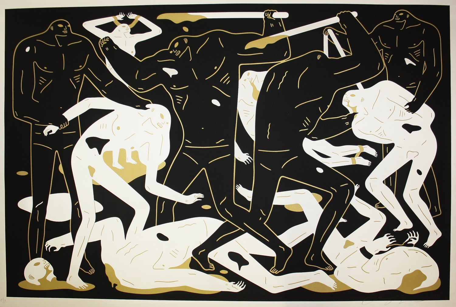 "Cleon Peterson - ""Between Man and God"" - Black"