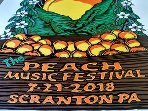 Image of Spafford The Peach Music Festival Print July 19-22 2018