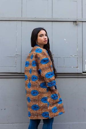 Image of Kimono Hirondelles Bleues 50% OFF