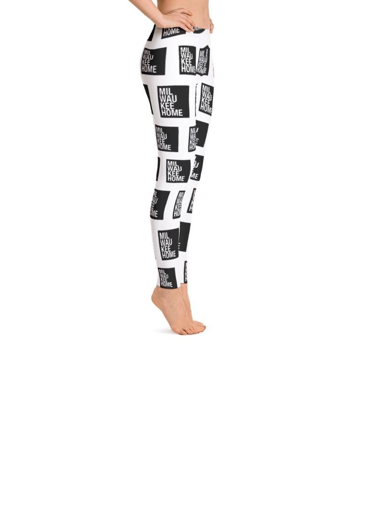 Image of WOMEN'S MILWAUKEEHOME ALLOVER PRINT LEGGINGS