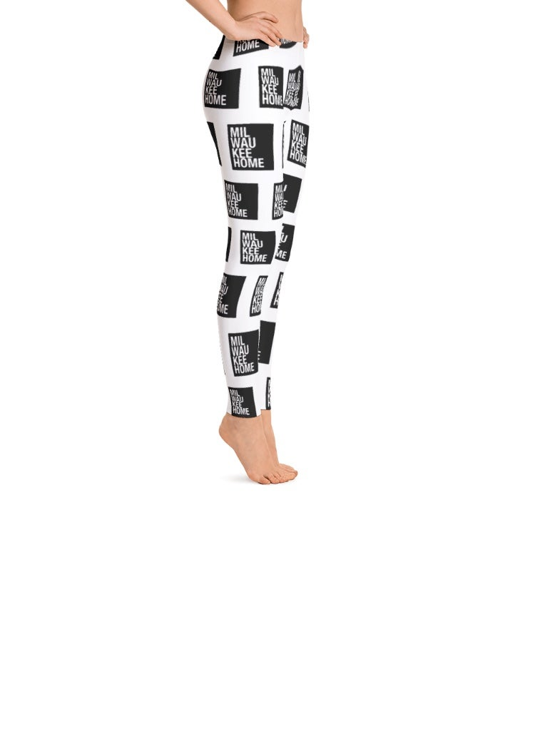 Image of WOMEN'S MILWAUKEEHOME ALLOVER PRINT LEGGINGS