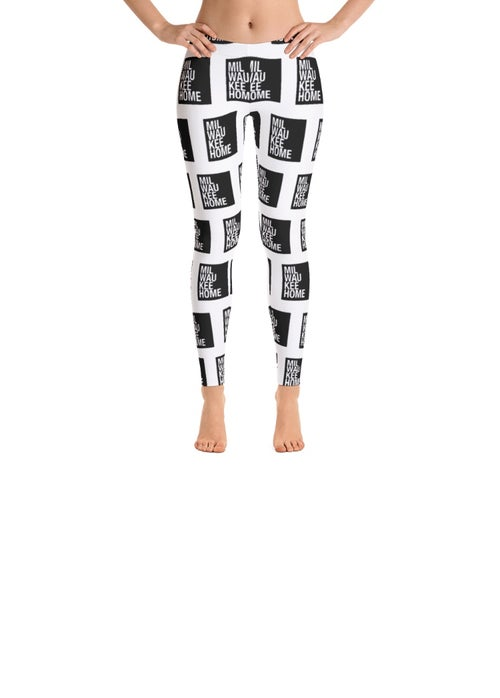 Image of Adult Milwaukee Home All-Over Print Leggings