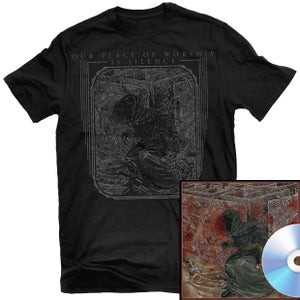 Image of Our Place of Worship is Silence - With Inexorable... CD + Shirt Package (Pre-order)