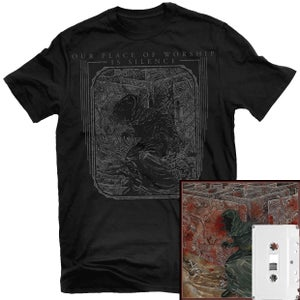 Image of Our Place of Worship is Silence - With Inexorable... Cassette + Shirt Package (Pre-order)