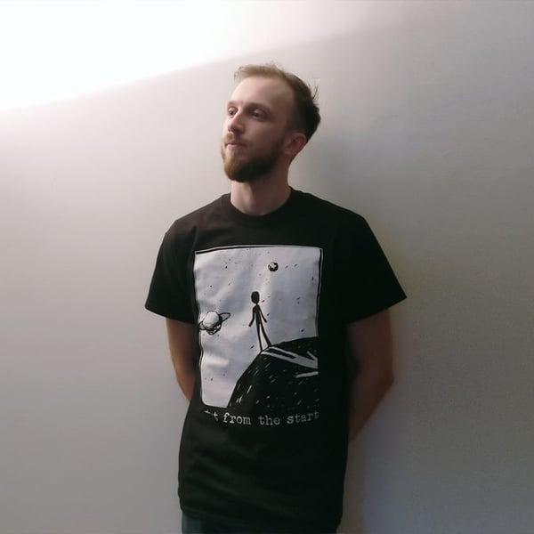 Image of Space black - shirt
