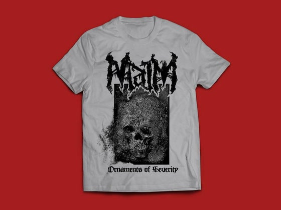 Image of Ornaments of Severity T-Shirt Grey