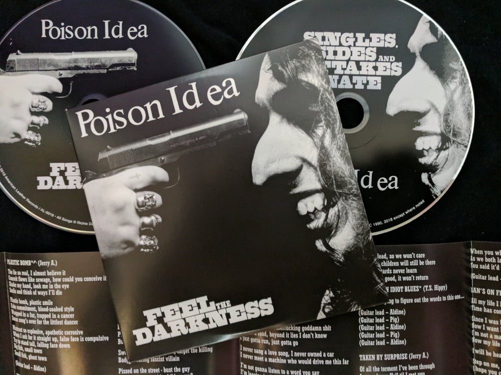 Image of FEEL THE DARKNESS C.D.