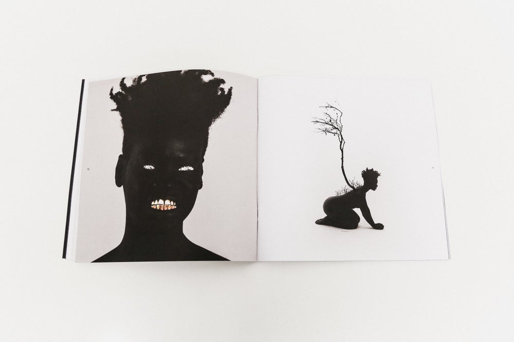 Image of Darker God in The Garden of Low Hanging Heavens Exhibition Catalog