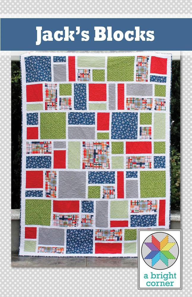 Image of Jack's Blocks Pattern - Paper Pattern
