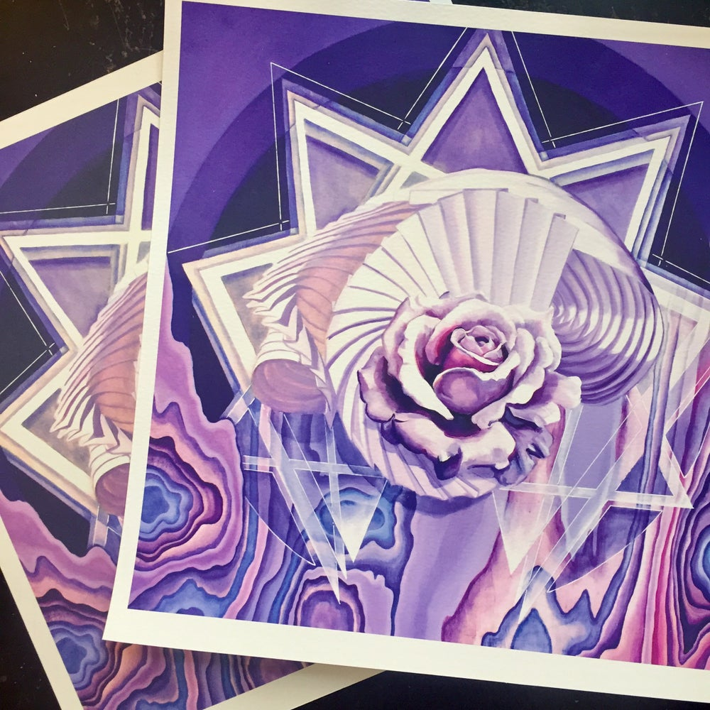 Image of We Are Capsules of Energy ~ Limited Edition Print