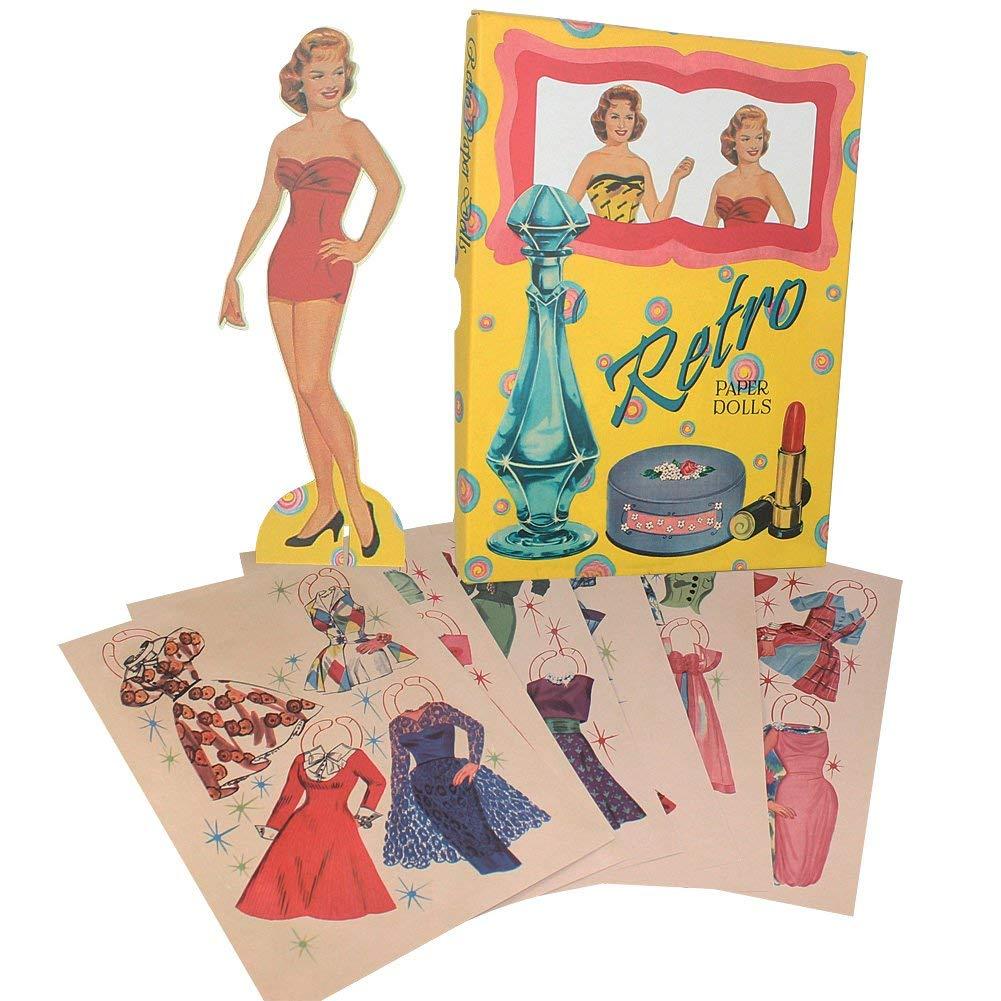 Image of Retro Paper Dolls
