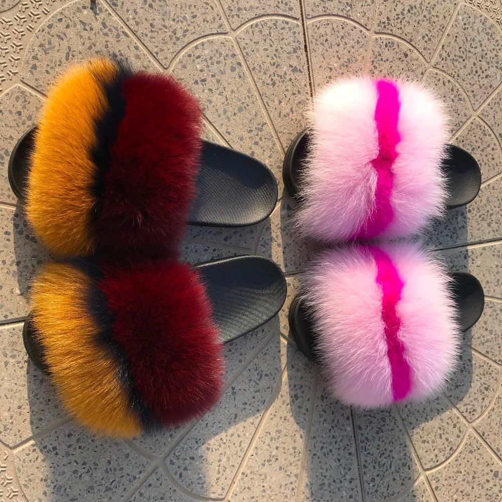 Image of Custom Fur Slides