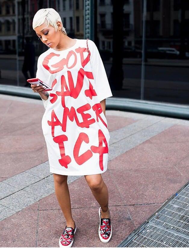 Image of America T-Shirt Dress