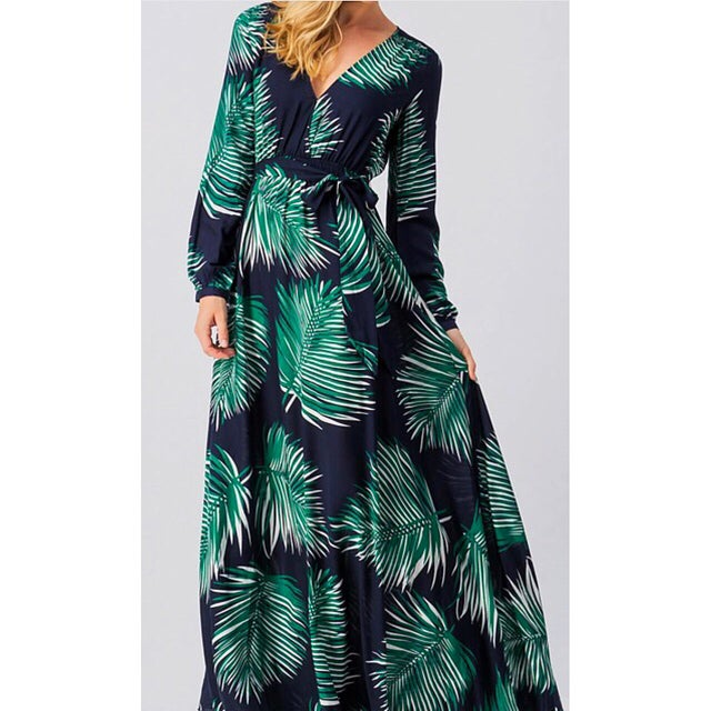 Image of Palm Maxi Dress