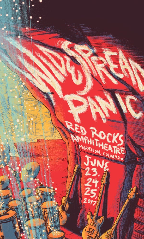 Image of Widespread Panic - Red Rocks 2017