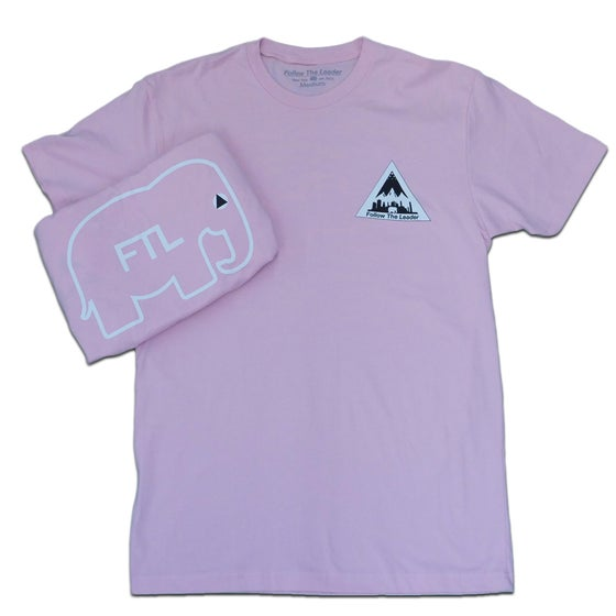 Image of NYC Scape Tee (Light Pink)