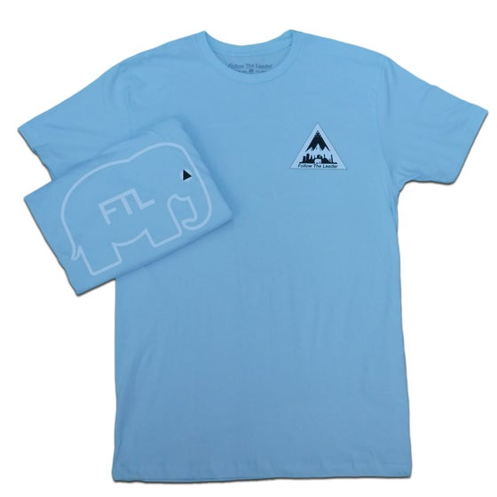 Image of NYC Scape Tee (Light Blue)