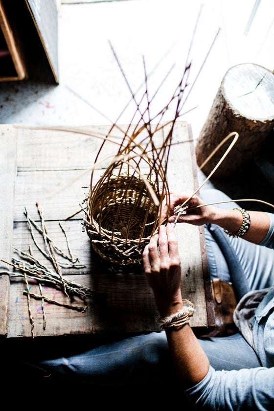 Image of BASKETRY 101 - Fundamentals of Contemporary Basketmaking - Sat 25th & Sun 26th August