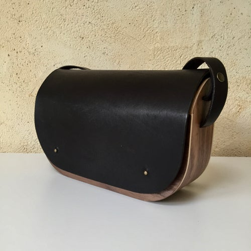 Image of Wooden HandBag Juglands