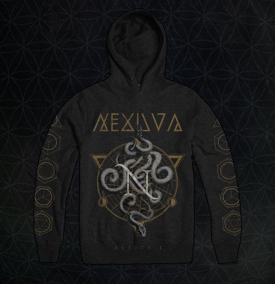Image of 'ASEITY: I' PULLOVER HOODIE
