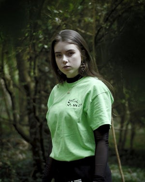 Image of LIME OnTheMission Logo T-Shirt