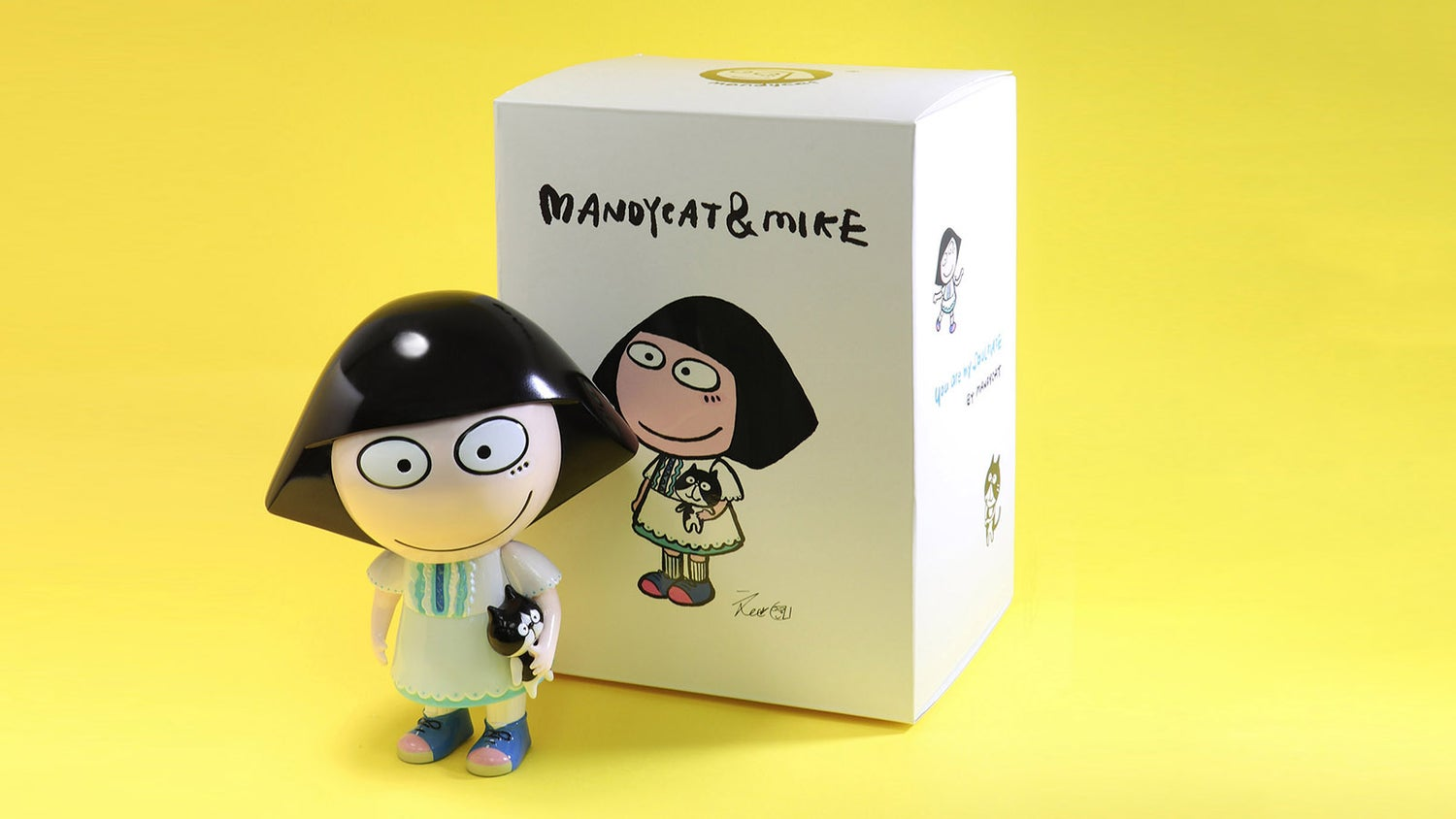 Image of MANDYCAT & MIKE SOFT VINYL FIGURE