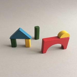 Image of Building bricks