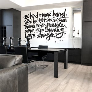 Image of CUSTOM #kbscript wall mural