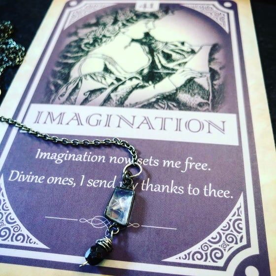 Image of Goddess Moonstone Lariat
