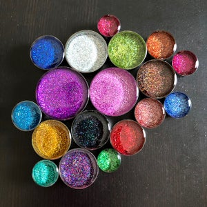 "Image of Holographic Glitter Plugs (Sizes 2g-2"")"
