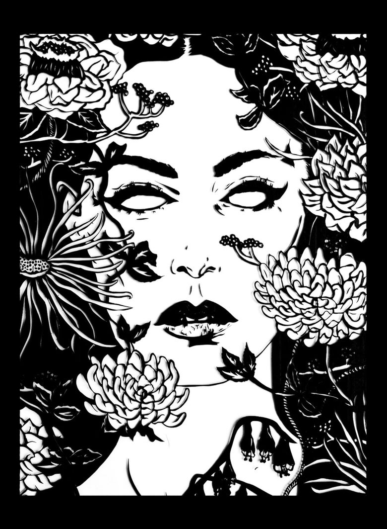 Image of Ophelia Screenprint