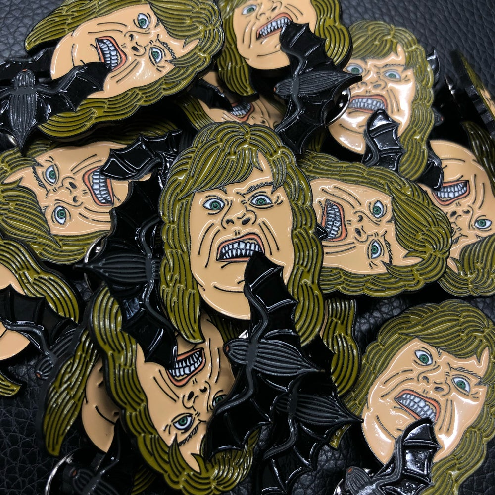 Image of OZZY bat pin