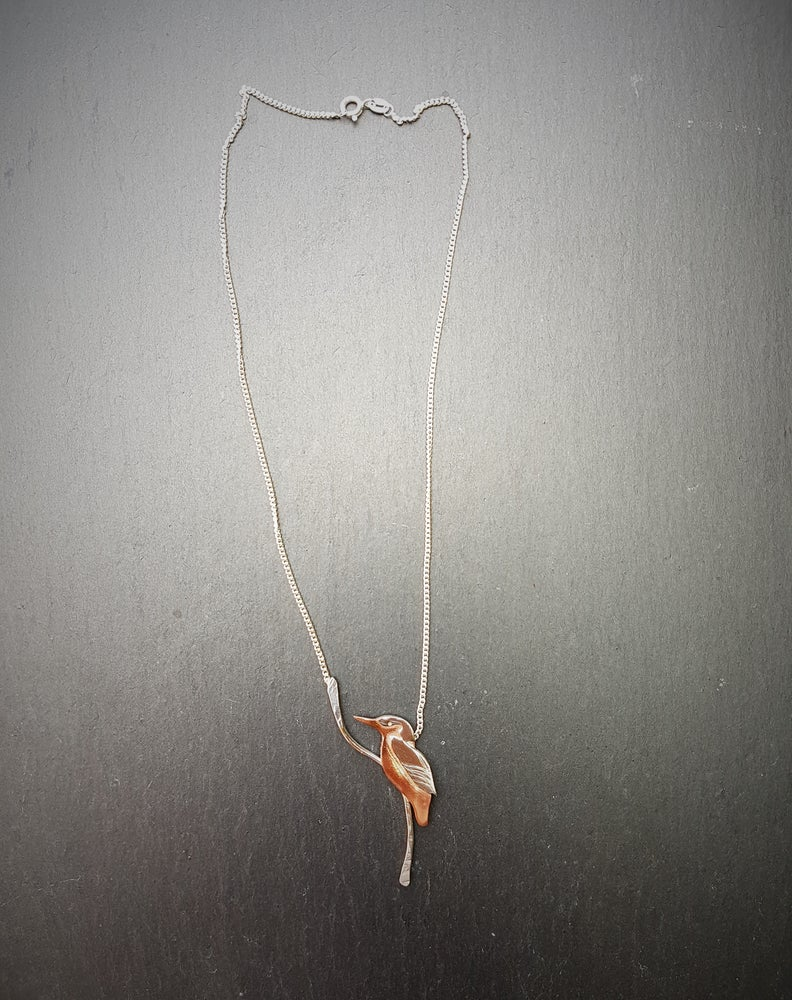 Image of Kingfisher Necklace