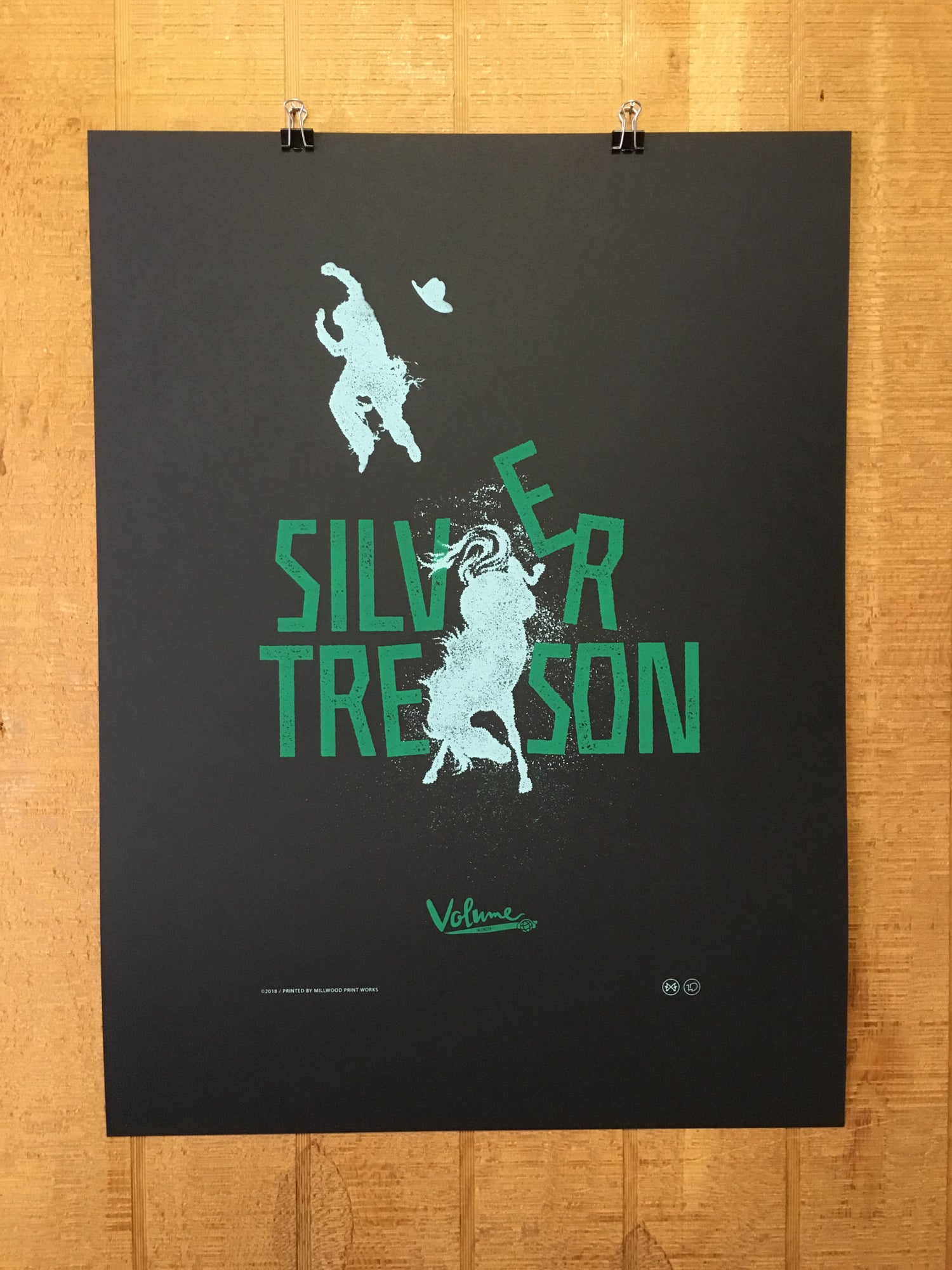 Image of Silver Treason Poster
