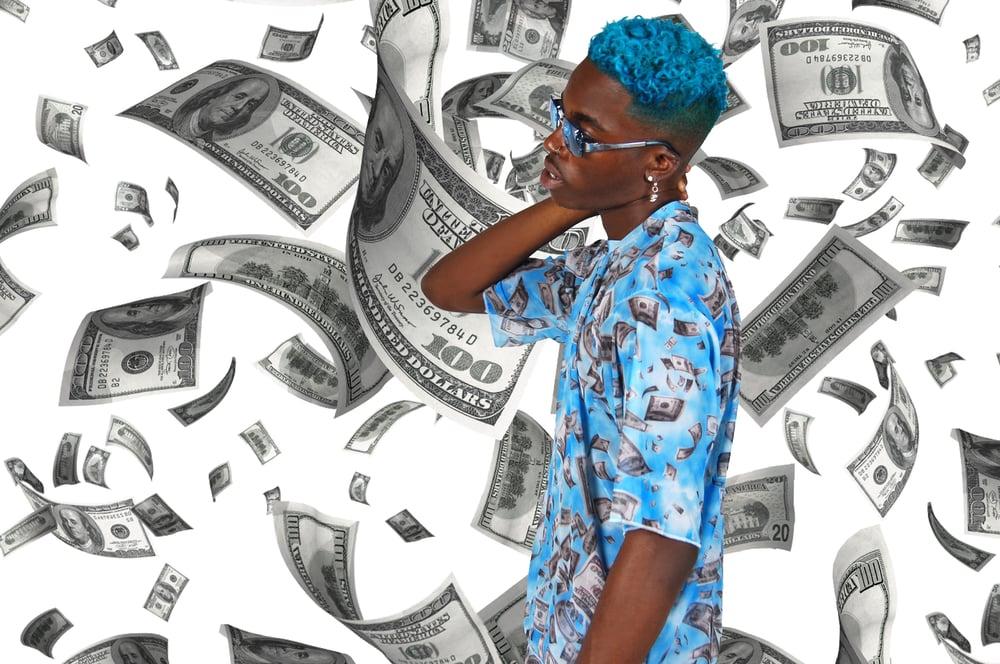 Image of Fallen Money mesh