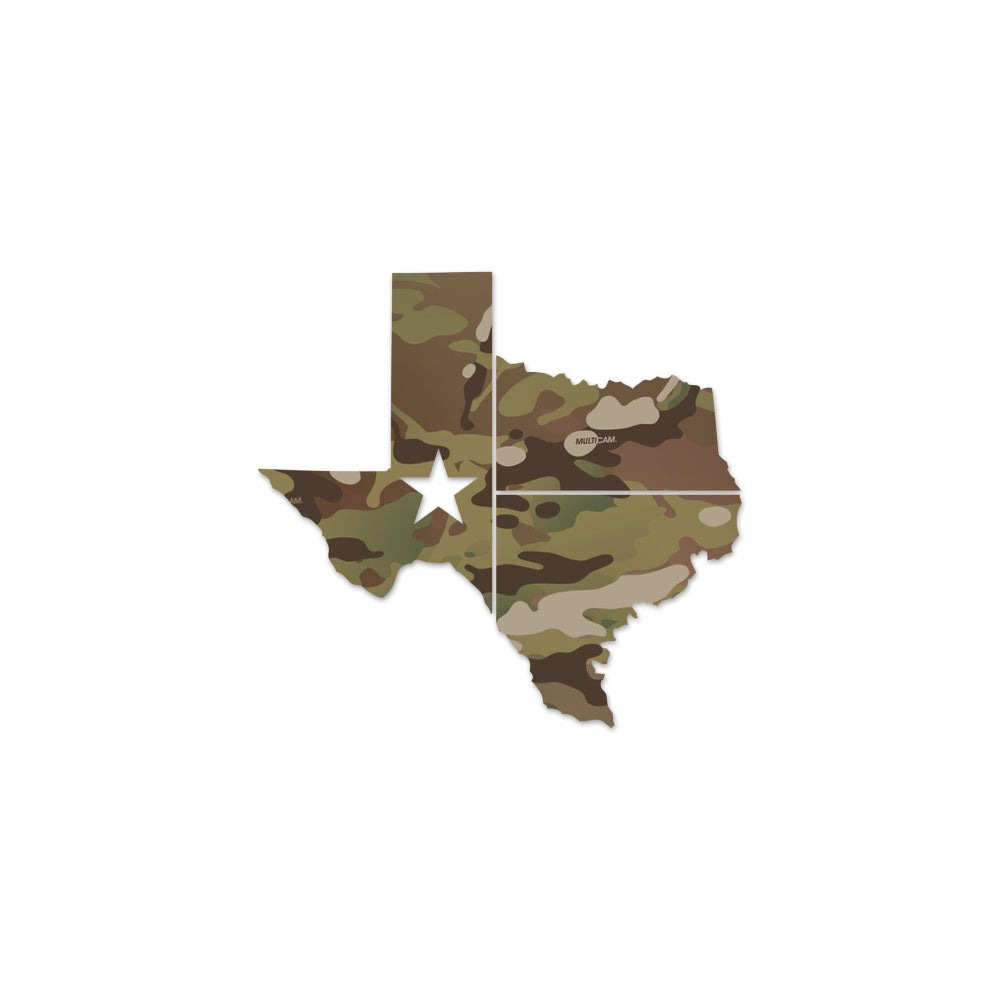 Image of 3M Official Multicam Texas Vinyls