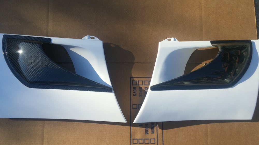 Image of 90-99 MR2 SW20 Side Vent Add Ons #C