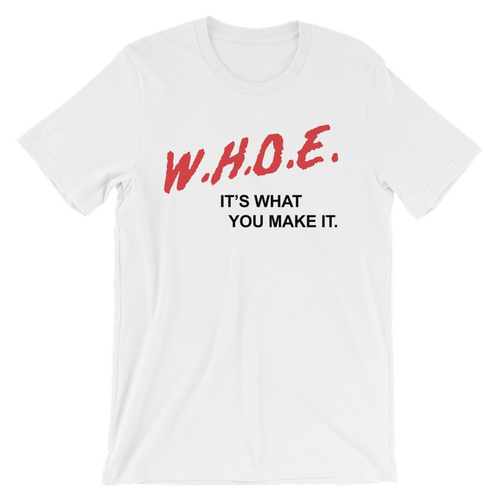 Image of DARE WHOE® Homecoming Shirt (Black or White)