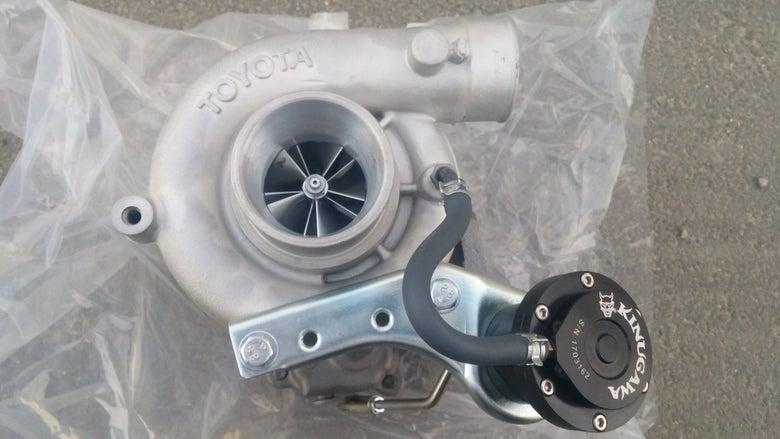 Image of Billet CT20b - UPGRADED FORGE MILLED BILLET COMPRESSOR WHEEL BILLET ADJUSTABLE WASTEGATE ACTUATOR