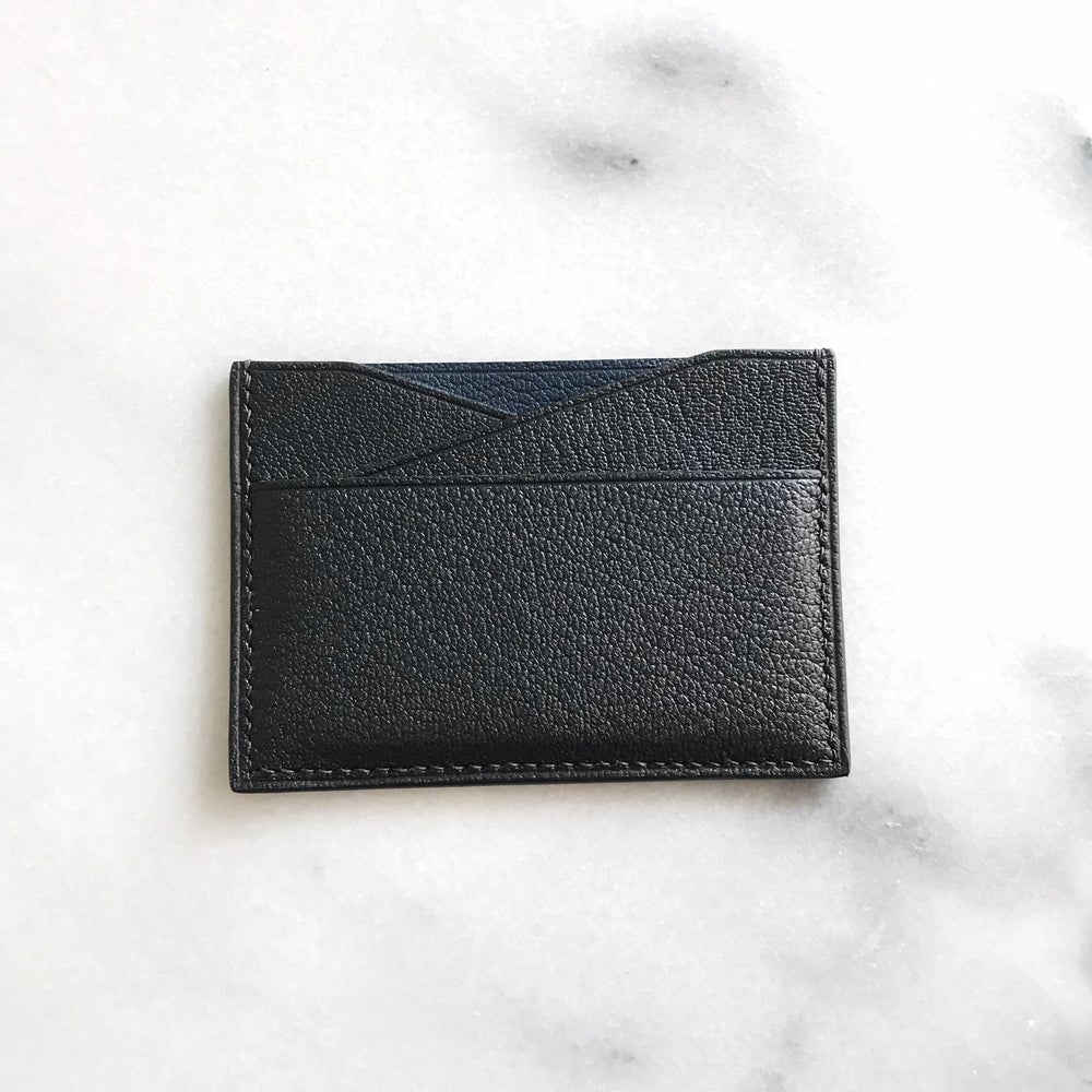 Image of Two tone cardholder