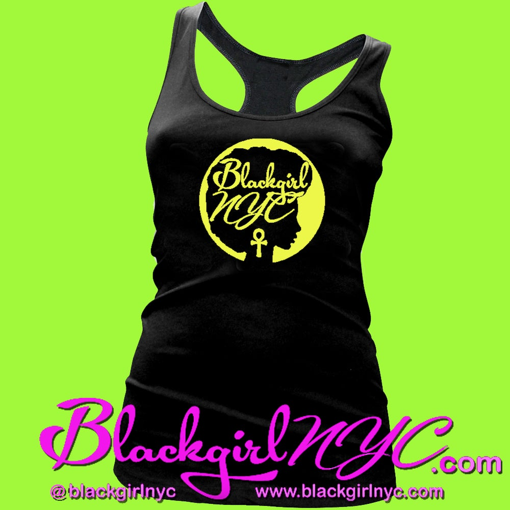 Image of Blackgirl NYC Racerback Tank Top