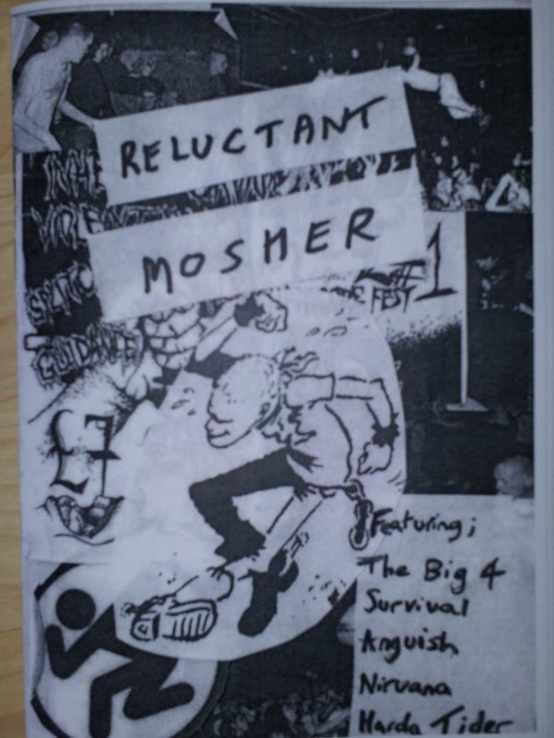 Image of Reluctant Mosher Hardcore Punk fanzine