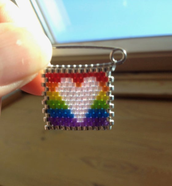 Image of Rainbow heart