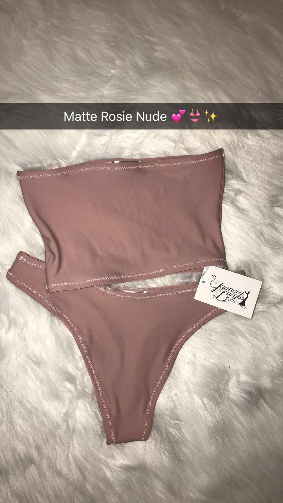 Image of Matte Thong Bikini