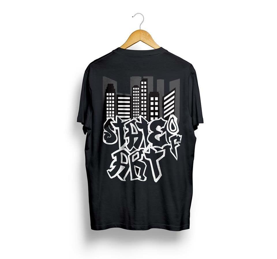 Image of  State Of Art City/Graffiti Landscape T-Shirt