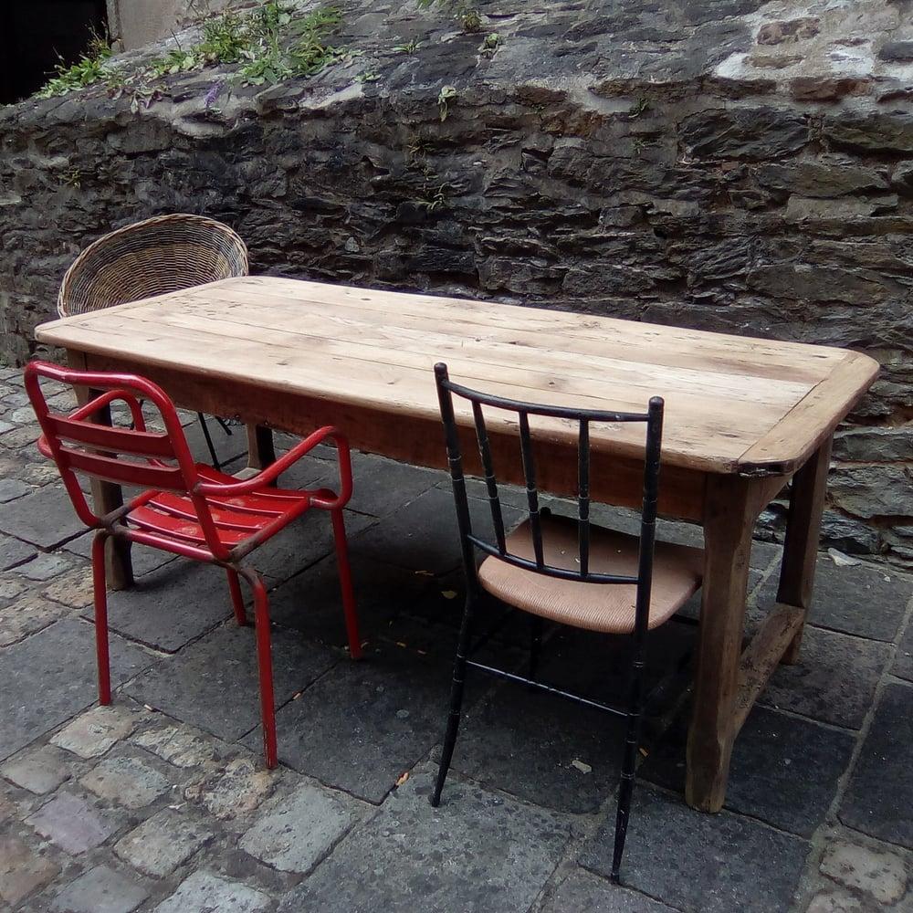 Image of Table de ferme 1,84