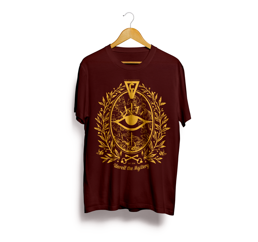 Image of T-Shirt Mystery (Golden - Cardinal Red Edition)