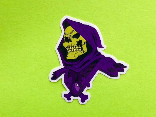 Image of Skeletor Sticker- 3""
